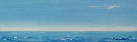 Marina en Azul, Mamen Arruti Pintura, marinas, mis cuadros,