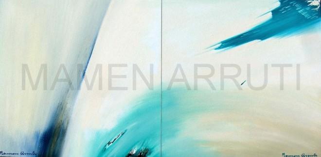 Color en movimiento, mamen arruti, al cuadrado, expresionismo, abstracto,